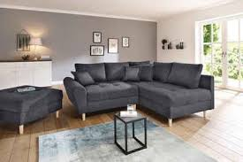 home affaire ecksofa rice incl hocker mit federkern