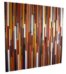 This Abstract Wood Wall Art From Modern Rustic On Etsy Has All The Beautiful Rich Colors Of Fall