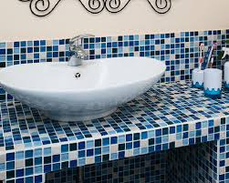 beautiful blue and white bathroom tiles 52 on home design ideas