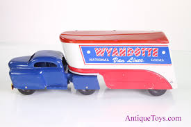 100 Toy Moving Truck Wyandotte Toy With Box For Sale PENDING Antique