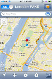 LocationHolic better than Fake Location Fake your GPS per app