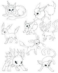 Eevee Coloring Pages Page Me Regarding Ideas 9 Go Pokemon
