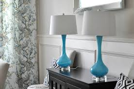 Stunning Home Goods Lamps Two Lamp Shade Glass And White Canvas