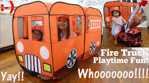 A Play Tent Playtime Fun! A Fire Truck Play Tent. Firefighter ... Unboxing Playhut 2in1 School Bus And Fire Engine Youtube Paw Patrol Marshall Truck Play Tent Reviews Wayfairca Trfireunickelodeonwpatrolmarshallusplaytent Amazoncom Ients Code Red Toys Games Popup Kids Pretend Vehicle Indoor Charles Bentley Outdoor Polyester Buy Playtent House Playhouse Colorful Mini Tents My Own Email Worlds Apart Getgo Role Multi Color Hobbies Find Products Online At