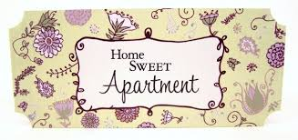 Home Sweet Apartment Wall Plaque