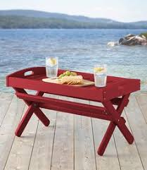 Ll Bean Adirondack Chair Folding by Adirondack Wooden Folding Side Table Now On Sale At L L Bean