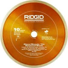 Rigid 7 Tile Saw Blade by Ridgid 7 In Glass Tile Blade Hd Gt70p The Home Depot