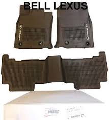 Lexus All Weather Floor Mats Es350 by Lexus Oem Factory All Weather Floor Mat Liner Set 2016 2017 Gx460