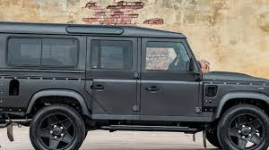 100 Land Rover Defender Truck Last Edition By Chelsea Company Motor1