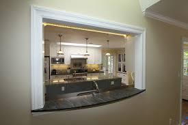 Kitchen Window Passthru Traditional