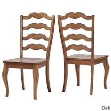 Amazon.com - Inspire Q Eleanor French Ladder Back Wood Dining Chair ... Guy Chaddock Melrose Custom Handmade Fniture Cf0485s Country French Ding Chairs With Ladder Back And Rush Seats Antique Farm Carved Tall Seat Room Set Of 6 Provincial In Walnut 10 Louis Xv Style Oak Leather Nailhead Recliner Chair Vintage White Of Four Six Xiv Ladderback Scalloped Stretchers Inspire Q Eleanor Wood 2 By Dec 16 2018