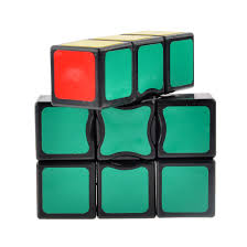 Hard Halloween Brain Teasers by Cubetwist 3x3x1 Floppy Magic Cube Puzzle Brain Teaser White