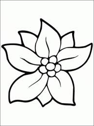 A Flower Coloring Page Kids Europe Travel Guides Com