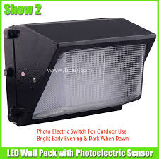 30w led wall pack fixtures commercial outdoor lighting with sensor