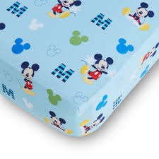 Mickey Mouse Bedding Twin by Disney Mickey Mouse Fitted Crib Sheet