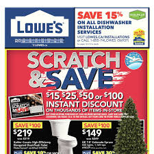 Lowes Canada Outdoor Christmas Decorations by Lowe U0027s Weekly Flyer Weekly Scratch U0026 Save Nov 9 U2013 15