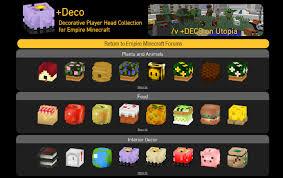 Deco Decorative Player Head Mall