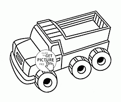 Simple Dump Truck Coloring Page For Toddlers, Transportation ... Dump Truck Coloring Pages Loringsuitecom Great Mack Truck Coloring Pages With Dump Sheets Garbage Page 34 For Of Snow Plow On Kids Play Color Simple Page For Toddlers Transportation Fire Free Printable 30 Coloringstar Me Cool Kids Drawn Pencil And In Color Drawn