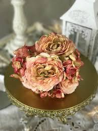 Pink Vintage Floral Posy