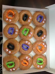 Ideas For Halloween Breakfast Foods by Easy Bake Sale Idea These Flew Off The Table Tonight Glazed