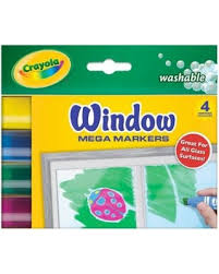 Crayola Bathtub Fingerpaint Soap Target by Savings On Crayola 588166 Crayola Mega Window Markers 4 Colors