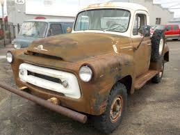 4X4 Project: 1957 International S-120 Pickup | 4x4, Ih And Harvester