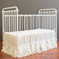 Bratt Decor Crib Skirt by Adagio Crib Skirt