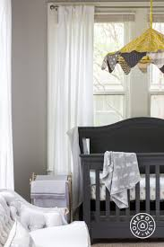 Yellow And White Curtains For Nursery by Yellow And Gray Nursery Ideas Contemporary Nursery
