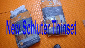 Mapei Thinset For Glass Tile by Thinset By Schluter Now You Are All Set Youtube