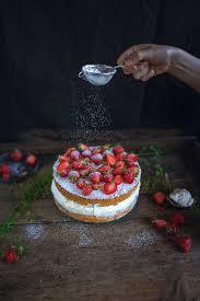 fluffiger erdbeertraum erdbeer käse sahne torte