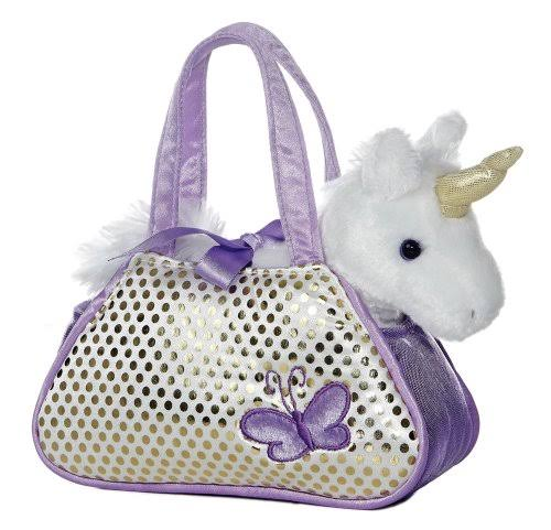 Aurora World Aurora Unicorn Fancy Pals Pet Carrier