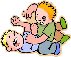 back gallery for children fighting at school clipart