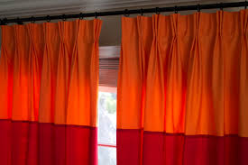 Making Curtains For Traverse Rods by How To Make Pinch Pleat Drapes With Pleat Tape Window Drapery