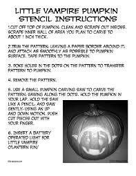 Mickey Vampire Pumpkin Stencil by Art Lessons 18 U2013 Little Vampires