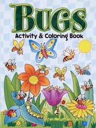 Bugs Activity And Coloring Book By Fran Newman DAmico