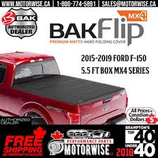 100 Ford Truck Performance Parts BAKFlip MX4 55 Ft Hard Folding Tonneau Cover For 20152019 F