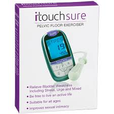 itouch sure pelvic floor exerciser free go gel lubricant