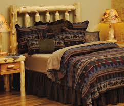 Cabin Bear Rustic Lodge Bedding