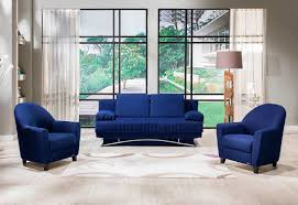 Jennifer Convertible Sofa Bed by Fantazia Blue Sofa Bed Queen Sleeper Sofa Beds
