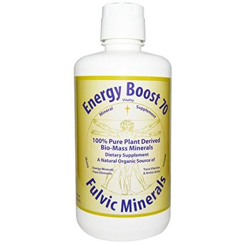 Morningstar Minerals Energy Boost 70 Mineral Supplement - 32oz