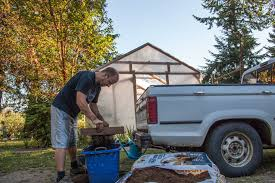 100 Seedling Truck We Sift The Compost To 1 Square Centimeter To Get Out The Course