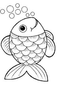 Free Rainbow Fish Template