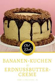 bananenkuchen mit erdnussbutter bananen kuchen kuchen