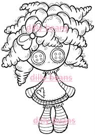Pin Rag Doll Coloring Sheet On Pinterest