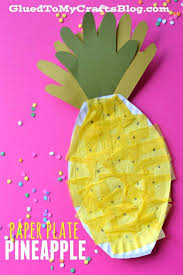 Summer Crafts Preschoolers Easy Pineapple Craft Ideas Luau On Creative For Kids Projects Toddlers Fun Kid