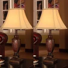 Bedside Table Lamps Walmart by Nightstand Dazzling Nice Target Desk Lamp With Brown Wood Stand