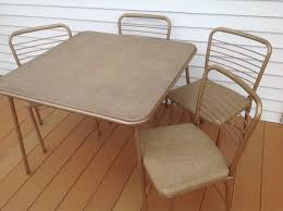 Vintage Hamilton Cosco, Inc. Folding Card Table And Chairs ... Vintage Hamilton Cosco Baby Jumper Bouncy Chair Nice Ebay Trex Outdoor Fniture Cape Cod Stepping Stone Folding Plastic Adirondack Hamiltonvintagecommunity Community Mid Century Metal And Vinyl Hamilton 3 Seat Leather Sofa Chairs Astounding Llbean With Best Osp Deluxe 2 Pack Stored Vintage Drafting Table Apartment Coinental Event Hire Sold Pair Of 1950s By Reupholstered Inc Year Clean Water Stakmore Black Set 4 Modern