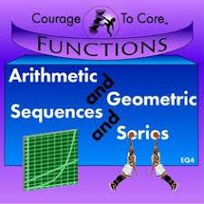 Arithmetic And Geometric Sequences Series EQ4 HSFLEA2