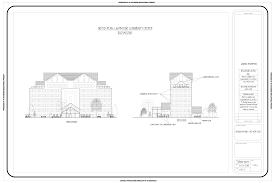 100 Arch D Community Center Conceptual Sketches Markplace Saints