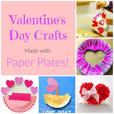 The Sweetest Paper Plate Crafts For Valentines Day These Are Nice And